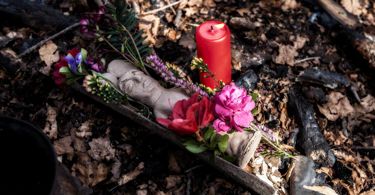 Statuette mortuaire pour un défunt