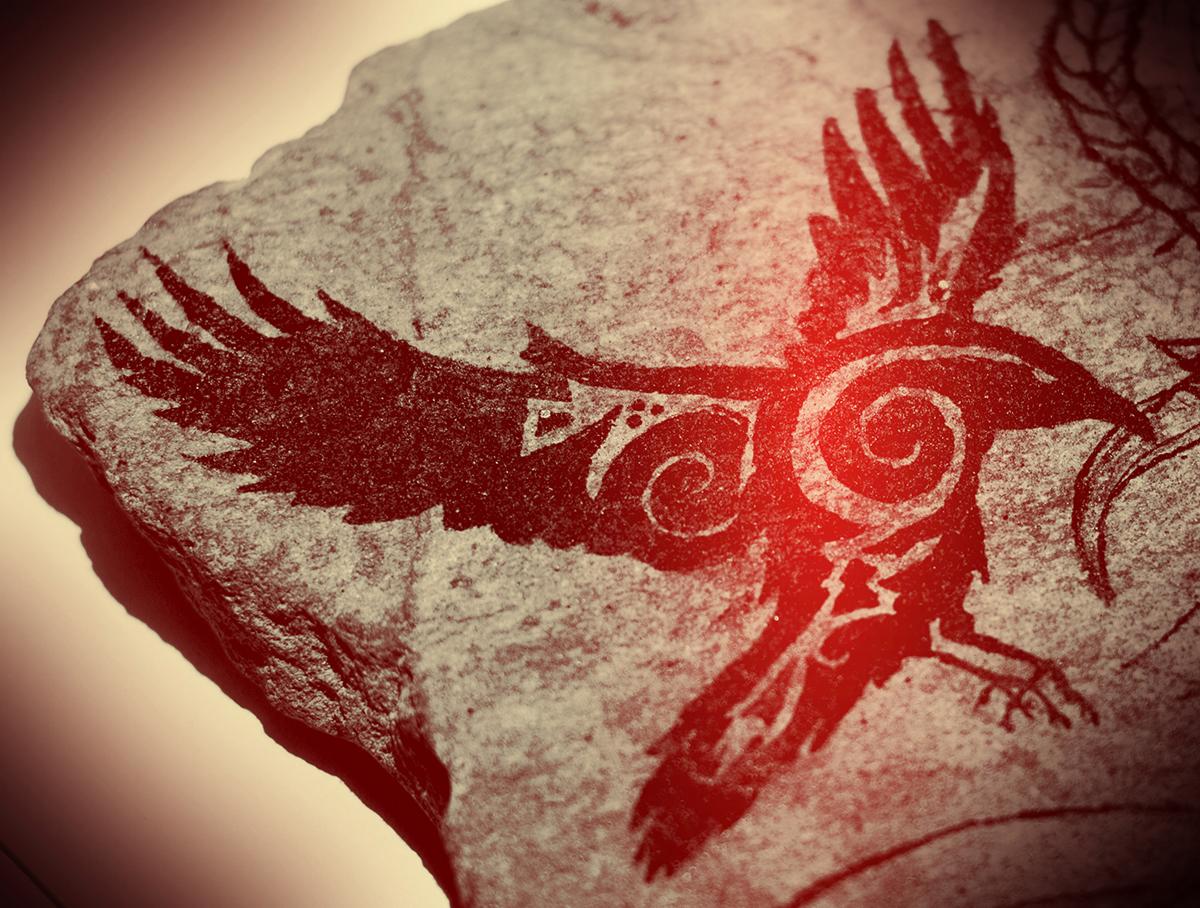 Raven, corneille de Morrigan