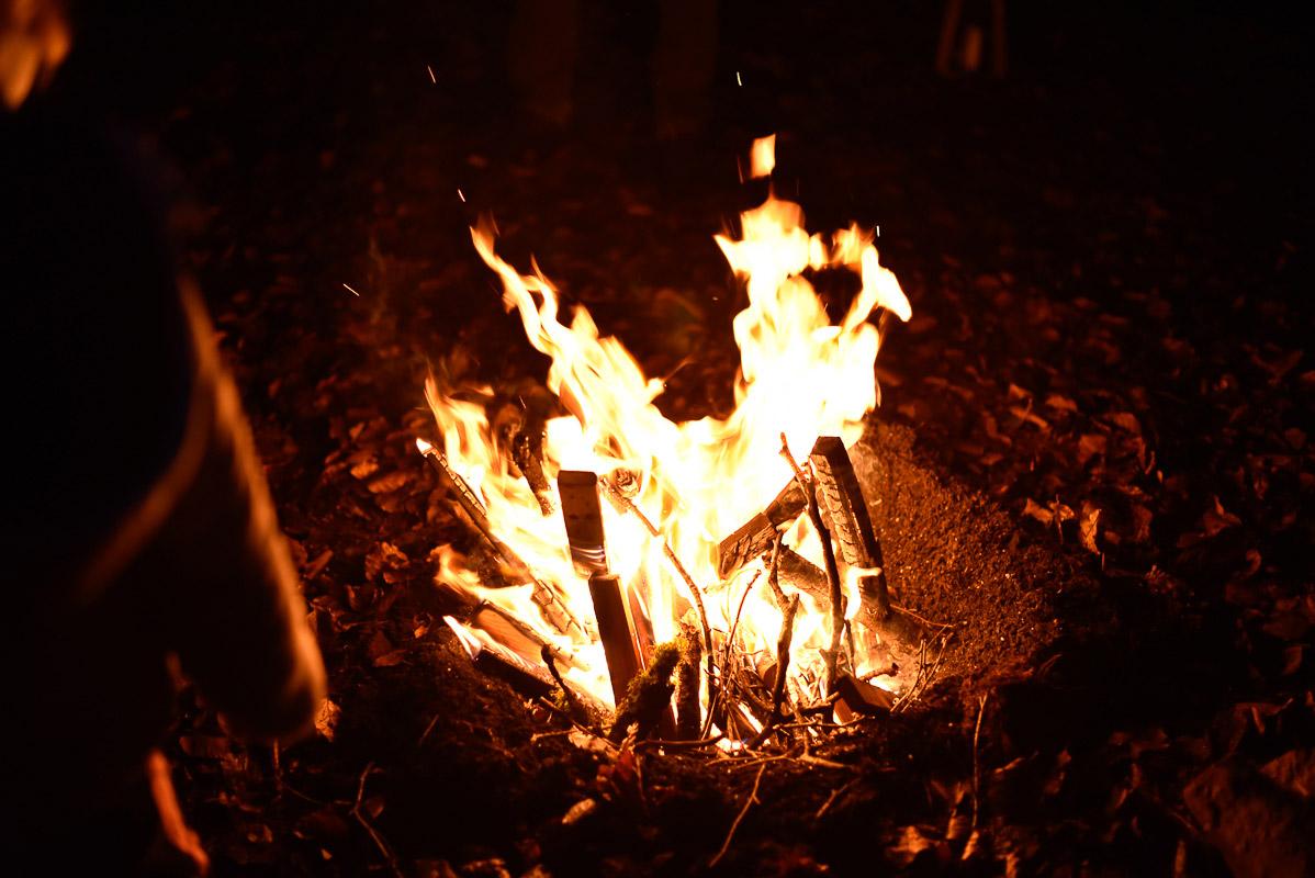 fête d'Omnia - feu